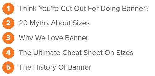 Banner Headlines