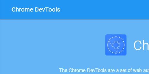 Chome Dev Tools