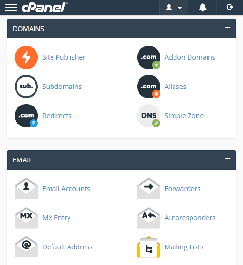 Cpanel Management