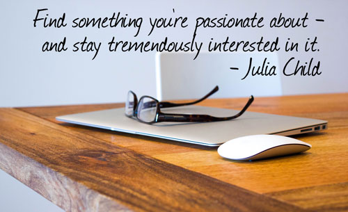 Find Something Your Passionate In