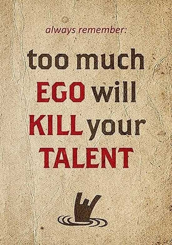 Ego and Talent