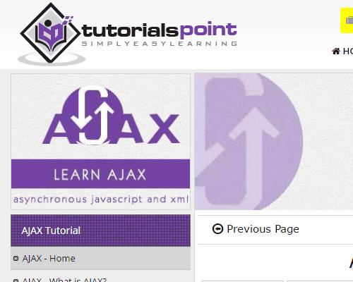 TutorailsPoint Ajax
