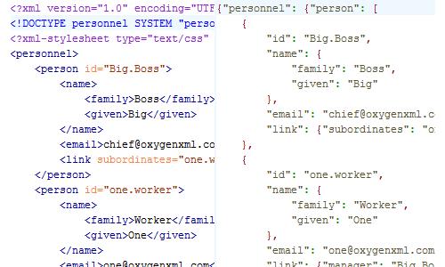 XML & JSON